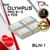 PRO B1-3 แบตเทียบ 4 ก้อน Olympus BLN-1 BLN1 OM-D Series E-M1 E-M5 E-P5 EM5 EP5 EM5II PEN F