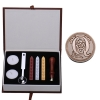 AQ Letter Alphabet Wax Badge Seal Stamp w/Wax Kit Set Letter A-ZOptional (Intl)