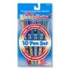 Melissa and Doug Blendy Pen 10 Pcs ปากกาแมจิกผสมสี