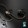 Small Talk RM-580 (Black) Double Moving - Coil Earphone - REMAX