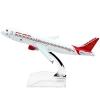 โมเดลเครื่องบิน AIR INDIA AIRBUS A320