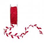BolehDeals 10Yards Satin Leaf Leaves Vine Garlands Ribbon TrimSewing Craft