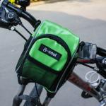 กระเป๋าคาดแฮนด์ B-SOUL กันน้ำ BIKE267 สีเขียว