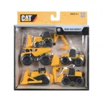 CAT ชุดรถก่อสร้าง รุ่น 34601 แพ็ค 5 คัน (Yellow)