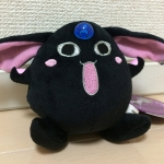 <พร้อมส่ง> ตุ๊กตาพวงกุญแจโมโคน่า โมโดกิ สีดำ แบบ2