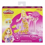 Play Doh Design-a-Dress Fashion Kit Princess Rapunzel-Pink