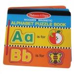 Melissa and Doug Alphabet Magnetic Book: A-Z 52 pcs