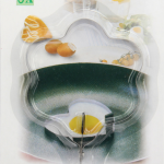 แม่พิมพ์ทอดไข่ รูปวงกลม6ลอน BAKE240