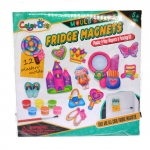 VcareForKids Mould & Paint ,Fridge Magnet ชุดทำ Magnetปูนปลาสเตอร์ระบายสี เซทเด็กหญิงและเครื่องแต่งตัว