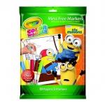 Crayola Color Wonder coloring book: Minions