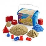 Motion Sand ทรายมหัศจรรย์ ชุดปราสาท (Bucket Set) ทราย 1kgพร้อมของเล่นทราย และกล่องหิ้ว