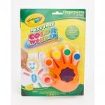 Crayola ชุดสีคัลเลอร์วันเดอร์ สีน้ำระบายด้วยนิ้ว