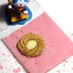 ถุงใส่คุ๊กกี้ ใส่ขนม ขนาด 10X10+3 CM 100 ถุง สีชมพู BAKE082