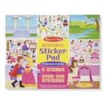 Melissa and Doug Reusable Sticker Pad: Princess