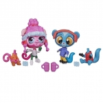 Littlest Pet Shop Winter Pet Duo Minka Mark and Sunil Nevla