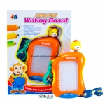 ProudNada Toys กระดานเม่เหล็กมือถือ Colorful writing boart สีส้มNO.201-1