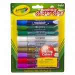 Crayola กาวเกล็ดสะท้อนแสง 9 แท่ง