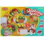 BKL TOY ของเล่น แป้งโดว์ แป้งปั้น ชุดซูชิ อาหารญี่ปุ่น JapanneseSushi 4006A