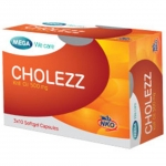 Mega We Care Cholezz 30 เม็ด ลดความเสี่ยงในการเกิดโรคไขมันอุดตันเส้นเลือดหัวใจและสมอง