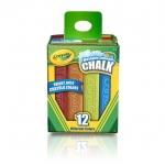 Crayola Washable Sidewalk Chalk สีชอล์ก แท่งใหญ่ ( 12 แท่ง )