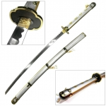 JAPAN ดาบคาตานะ Tsurumaru Kuninaga Sword + แท่นวาง(Touken Ranbu)
