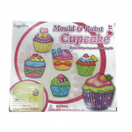 VcareForKids Mould & Paint Cupcake, ชุดทำ Magnet ปูนปลาสเตอร์ระบายสี เซทเค้ก