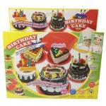 Films Toy ชุดแป้งโดวทำเค้ก + แป้ง 4 สี