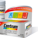 Centrum Silver 50+ Dietary Supplement Product Complete From A To Zinc 90 Tablets วิตามินและเกลือแร่รวม 23 ชนิดที่จำเป็นต่อร่างกาย พร้อมเบตาแคโรทีน ลูปีน และไลโคปีน สำหรับผู้ที่อายุ 50 ปีขึ้นไปโดยเฉพาะ
