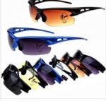 แว่นจักรยาน กันลม กันฝุ่น BIKE196 สีน้ำเงิน/ดำ/เหลือง/ชา/ใส