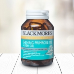 Blackmores Evening Primrose Oil + Fish Oil Capsules แบลคมอร์ส น้ำมันอีฟนิ่งพริมโรส + น้ำมันปลา ชนิดแคปซูล