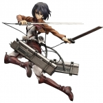Attack on Titan: Mikasa Ackerman PVC Figure, 1/8 Scale shingeki nokyojin