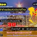 การไฟฟ้าฝ่ายผลิตแห่งประเทศไทย (กฟผ.) เปิดรับสมัครสอบเป็นพนักงาน 30 อัตรา รับสมัครทางอินเทอร์เน็ต ตั้งแต่วันที่ 22 - 28 พฤษภาคม 2560