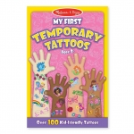 Melissa and Doug Kids Tattoos สติ๊กเกอร์แทททูเด็ก - ชุดเด็กผู้หญิง