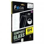 โฟกัสกระจกนิรภัยเต็มจอสีขาว (FOCUS FULL FRAME TEMPERED GLASS) Apple iPhone 7