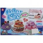 BKL TOY ของเล่น แป้งโดว์ แป้งปั้น ชุดคัพเค้ก Color Clay Cup Cake728B-1