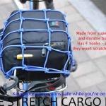 ตาข่ายคลุมสัมภาระ สำหรับจักรยาน มอเตอร์ไซค์ BIKE114