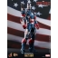 Hot Toys โมเดล ฟิกเกอร์ Iron Man 3 Iron Patriot Limited EditionCollectible Figurine 1/6 scale. thumbnail 2