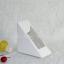 กล่องใส่แซนวิช กระดาษขาว 10 กล่อง BAKE169 thumbnail 2