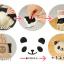 แม่พิมพ์ซูชิ ข้าวปั้น หมีแพนด้า BAKE202 thumbnail 3