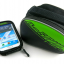 กระเป๋าคาดเฟรม B-SOUL ใส่มือถือ สัมผัสได้ BIKE258 สีแดง/เขียว/ฟ้า thumbnail 5