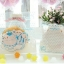 ถุงใส่คุ๊กกี้ ใส่ขนม ขนาด 10X10+3 CM 100 ถุง ลายการ์ตูนแมว ฟ้า BAKE085 thumbnail 2