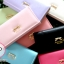 กระเป๋าสตางค์ใบยาว 2 พับ ติดโบว์ thumbnail 1