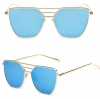 แว่นตากันแดด UV400 สีฟ้า