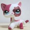 LPS แมวเปอเซียขาว-แดง #2291
