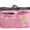 กระเป๋าเครื่องสำอาง สีชมพู