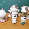 เซอรามิคครอบครัวคุณวัว 5 ตัว