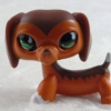 LPS สุนัขดัชชุนด์ สีน้ำตาล #675