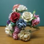 ช่อดอกไม้จิ๋วกระดาษสา