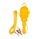 โคมไฟ PVC ตรา 3 เฟืองแบบหนีบแบ็ต 8 ม.