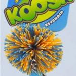 Koosh Ball สีส้ม-ฟ้า ขนาด 2 นิ้ว